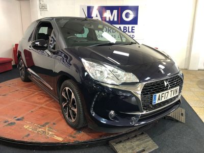 DS AUTOMOBILES DS 3 CABRIO Convertible 1.6 BlueHDi Elegance Cabriolet (s/s) 2dr