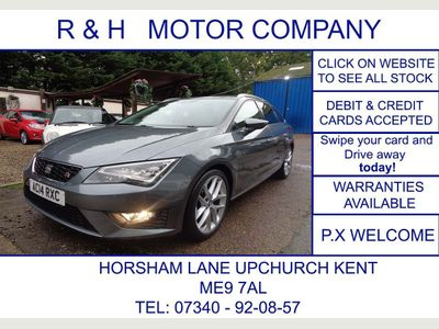SEAT Leon Estate 2.0 TDI FR (Tech Pack) ST DSG 5dr
