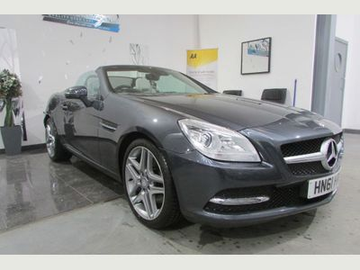 Mercedes-Benz SLK Convertible 1.8 SLK250 BlueEFFICIENCY Edition 125 7G-Tronic Plus 2dr