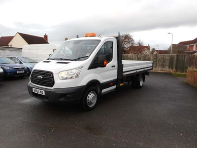 Ford Transit Dropside 350,125,BHP, 14FT DROPSIDE, TWIN WHEELS