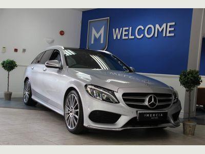 Mercedes-Benz C Class Estate 2.0 C200 AMG Line (Premium) G-Tronic+ (s/s) 5dr