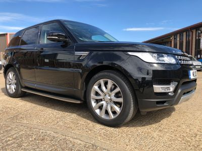 Land Rover Range Rover Sport SUV 3.0 SD V6 HSE CommandShift 2 4X4 (s/s) 5dr