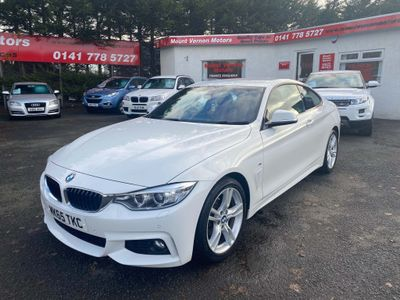 BMW 4 Series Coupe 2.0 418d M Sport 2dr