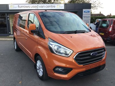 FORD TRANSIT CUSTOM Unlisted 320 L2 D/CAB IN VAN LIMITED 130 PS AUTO