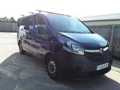 Vauxhall Vivaro Panel Van 1.6 CDTi 2700 ecoFLEX L1 H1 EU5 (s/s) 5dr