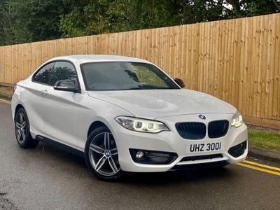 BMW 2 Series Coupe 2.0 218d Sport Auto (s/s) 2dr