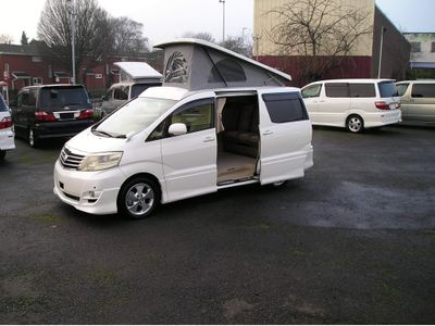 Toyota Alphard Unlisted 2.4 with brand new leisure conversion