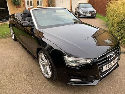 Audi A5 Cabriolet Convertible 1.8 TFSI S line Cabriolet Multitronic 2dr