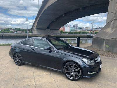Mercedes-Benz C Class Coupe 2.1 C250 CDI BlueEFFICIENCY AMG Sport 2dr