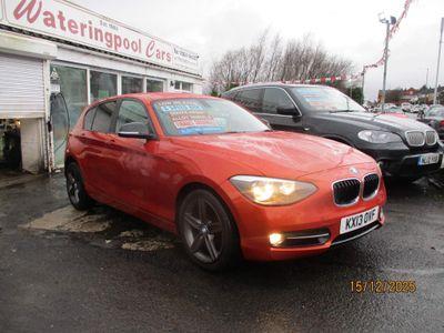 BMW 1 Series Hatchback 1.6 118i Sport Sports Hatch 5dr