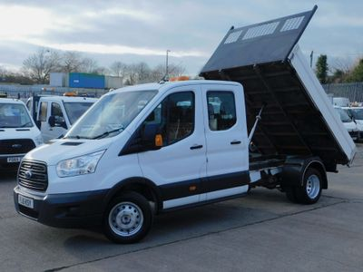 Ford Transit Tipper 2.2TDCI 125PS DOUBLE CAB 1 STOP TIPPER