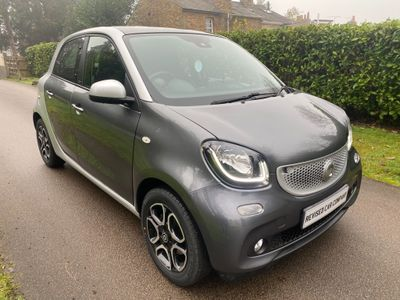 Smart forfour Hatchback 1.0 Prime (Premium Plus) Twinamic (s/s) 5dr