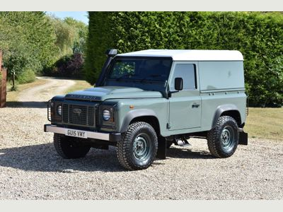 Land Rover Defender 90 SUV TDCi 2.2 Hard Top Van with Auto Gearbox
