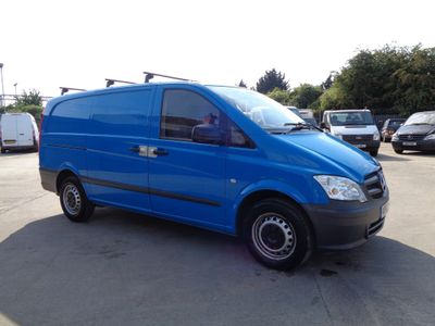 Mercedes-Benz Vito Panel Van 2.1 116CDI Long Panel Van 5dr (EU5)
