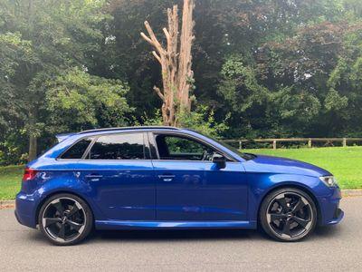 Audi RS3 Hatchback 2.5 TFSI Sportback S Tronic quattro 5dr (Nav)
