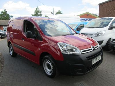 Citroen Berlingo Panel Van 1.6 HDi 850 X L1 4dr