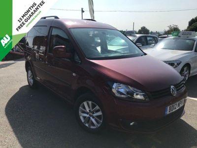 Volkswagen Caddy Unlisted 1.6 TDI C20 WAV DSG 4dr