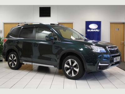 Subaru Forester SUV 2.0D XC Premium Hunter Green Lineartronic 4WD 5dr