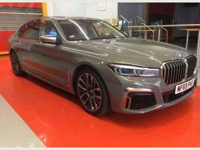 BMW 7 Series Saloon 6.6 M760L V12 Auto xDrive (s/s) 4dr