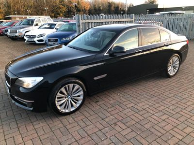 BMW 7 Series Saloon 3.0 730d SE Exclusive (s/s) 4dr