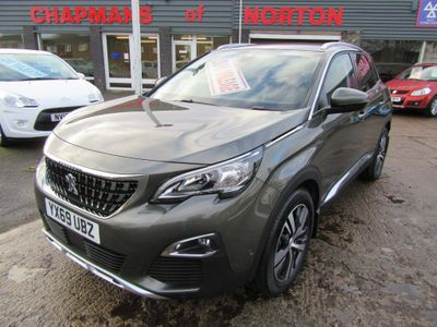 Peugeot 3008 SUV 1.5 BlueHDi Allure EAT (s/s) 5dr