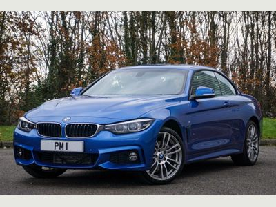BMW 4 Series Convertible 3.0 435d M Sport Auto xDrive (s/s) 2dr