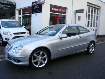 Mercedes-Benz C Class Coupe 1.8 C180 Kompressor Sport Edition 2dr