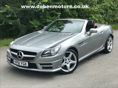 Mercedes-Benz SLK Convertible 3.5 SLK350 BlueEFFICIENCY AMG Sport Edition 125 7G-Tronic Plus 2dr