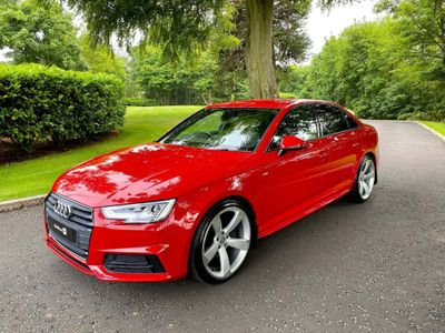 Audi A4 Saloon 2.0 TDI S line S Tronic quattro (s/s) 4dr