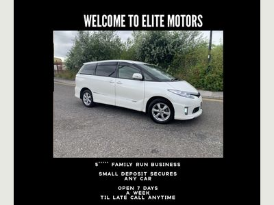 Toyota Estima MPV 2.4 Aeras Hybrid 8 seats
