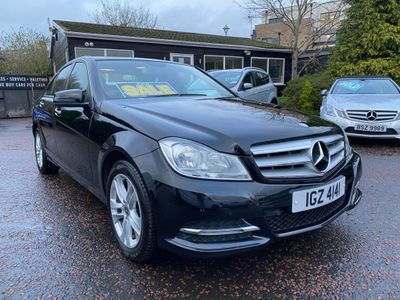 Mercedes-Benz C Class Saloon 2.1 C220 CDI BlueEFFICIENCY SE (Executive) 7G-Tronic Plus 4dr