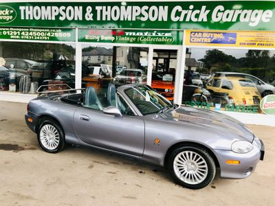 Mazda MX-5 Convertible 1.8 Arctic Limited Edition 2dr