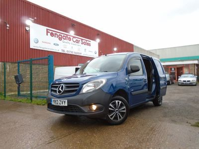 Mercedes-Benz Citan Panel Van 1.5 108 CDi BlueEFFICIENCY L2 EU5 (s/s) 5dr