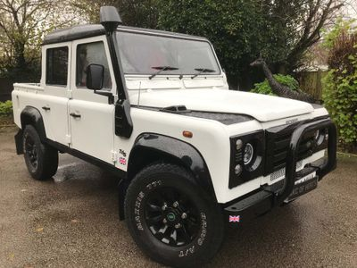 Land Rover Defender 110 Pickup 2.5 TD5 Double Cab 4dr