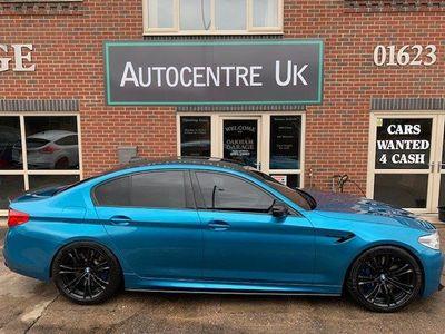 BMW M5 Saloon 4.4 V8 Steptronic xDrive (s/s) 4dr