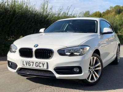BMW 1 Series Hatchback 1.5 116d Sport Sports Hatch Auto (s/s) 3dr