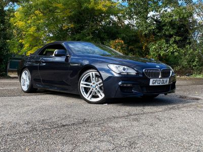 BMW 6 Series Convertible 3.0 640d M Sport (s/s) 2dr
