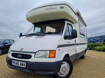 Auto-Sleepers Excelsior Coach Built Ford transit 2.5 td