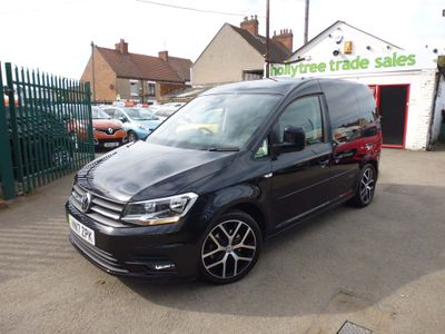 VOLKSWAGEN CADDY Panel Van 2.0 TDI BlueMotion Tech C20 Black Edition Panel Van 5dr (EU6)