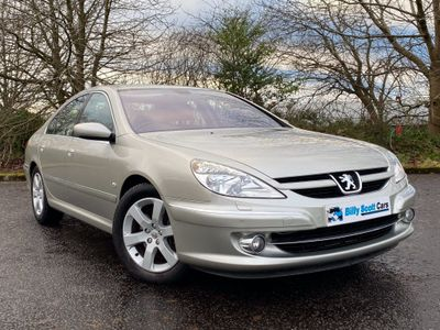 Peugeot 607 Saloon 2.0 HDi FAP Executive 4dr