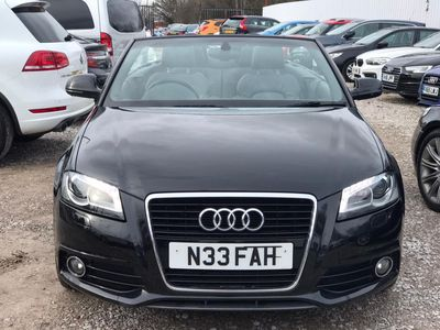 Audi A3 Cabriolet Convertible 2.0 TDI S line Final Edition Cabriolet S Tronic 2dr