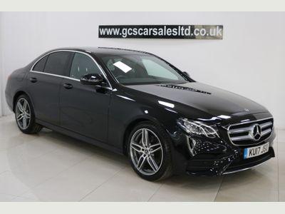 Mercedes-Benz E Class Saloon 2.0 E200d AMG Line G-Tronic+ (s/s) 4dr