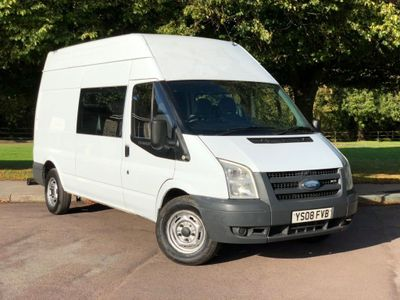 Ford Transit Other 2.4 TDCi 350 LWB High Roof Double Cab-in-Van Duratorq 4dr