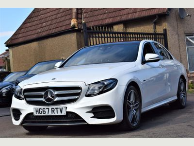 Mercedes-Benz E Class Saloon 2.0 E350e 6.4kWh AMG Line (Premium Plus) G-Tronic+ (s/s) 4dr