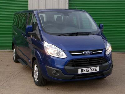 Ford Tourneo Custom Other 2.2 TDCi 300L Titanium Low Roof Shuttle Bus 5dr (9 Seats, LWB)