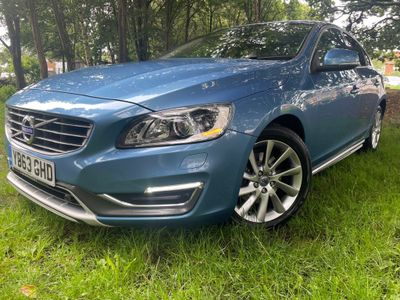Volvo S60 Saloon 2.0 D3 SE Lux Geartronic (s/s) 4dr