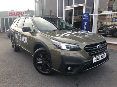 Subaru Outback Estate 2.5i Field Lineartronic 4WD (s/s) 5dr