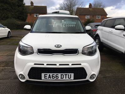 Kia Soul Hatchback 1.6 CRDi Connect Plus DCT 5dr