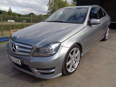 Mercedes-Benz C Class Saloon 2.1 C200 CDI BlueEFFICIENCY Sport 7G-Tronic 4dr