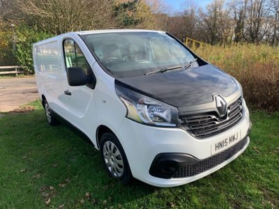 Renault Trafic Panel Van 1.6 dCi ENERGY 29 Business+ SWB Standard Roof EU5 (s/s) 5dr